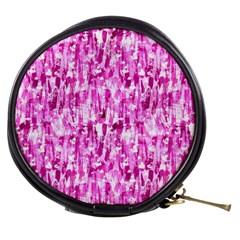 Pink Grunge Love Mini Makeup Bags