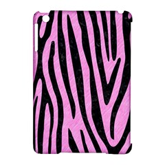 Skin4 Black Marble & Pink Colored Pencil (r) Apple Ipad Mini Hardshell Case (compatible With Smart Cover)