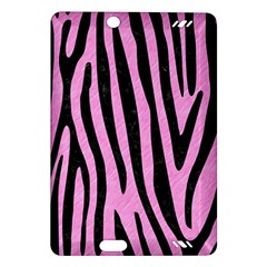 Skin4 Black Marble & Pink Colored Pencil (r) Amazon Kindle Fire Hd (2013) Hardshell Case