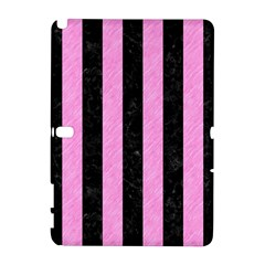 Stripes1 Black Marble & Pink Colored Pencil Galaxy Note 1
