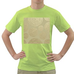 Modern, Gold,polka Dots, Metallic,elegant,chic,hand Painted, Beautiful,contemporary,deocrative,decor Green T Shirt