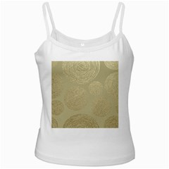 Modern, Gold,polka Dots, Metallic,elegant,chic,hand Painted, Beautiful,contemporary,deocrative,decor Ladies Camisoles