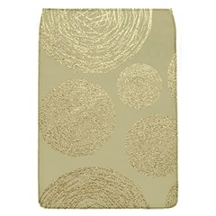 Modern, Gold,polka Dots, Metallic,elegant,chic,hand Painted, Beautiful,contemporary,deocrative,decor Flap Covers (s)