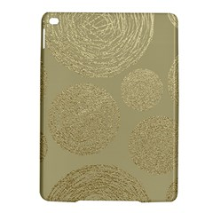 Modern, Gold,polka Dots, Metallic,elegant,chic,hand Painted, Beautiful,contemporary,deocrative,decor Ipad Air 2 Hardshell Cases