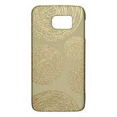 Modern, Gold,polka Dots, Metallic,elegant,chic,hand Painted, Beautiful,contemporary,deocrative,decor Galaxy S6