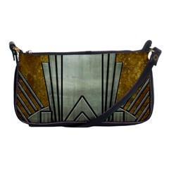 Art Nouveau Gold Silver Shoulder Clutch Bags