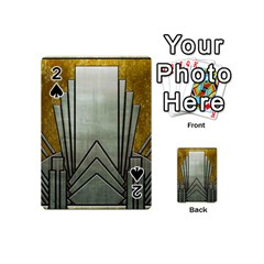 Art Nouveau Gold Silver Playing Cards 54 (mini)