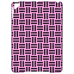 Woven1 Black Marble & Pink Colored Pencil Apple Ipad Pro 9 7   Hardshell Case