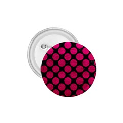 Circles2 Black Marble & Pink Leather (r) 1 75  Buttons