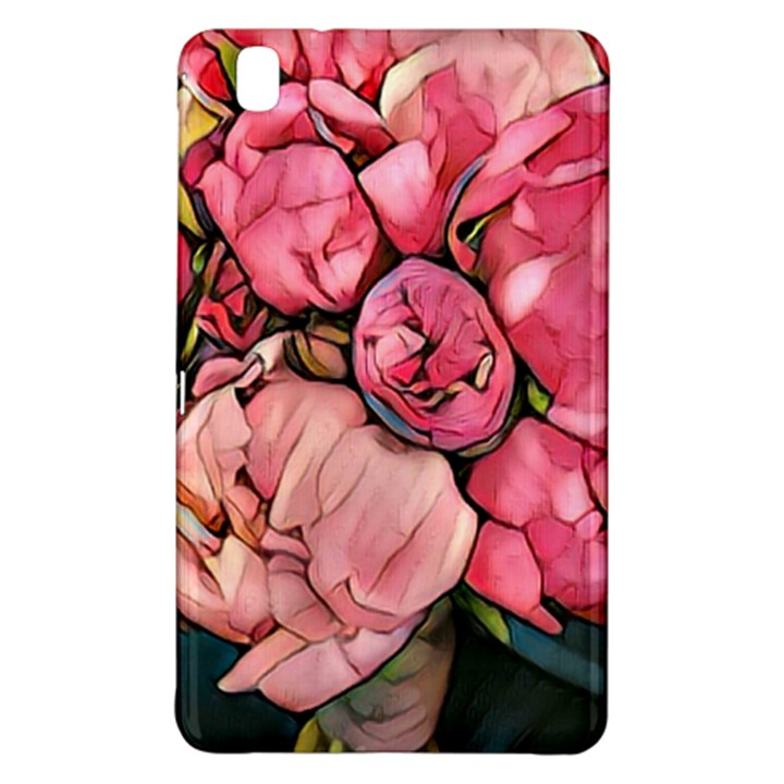 beautiful peonies Samsung Galaxy Tab Pro 8.4 Hardshell Case