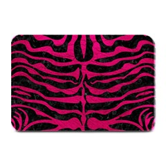 Skin2 Black Marble & Pink Leather (r) Plate Mats
