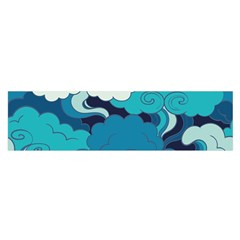 Abstract Nature 4 Satin Scarf (oblong)