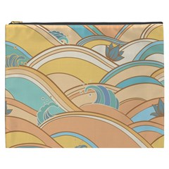 Abstract Nature 5 Cosmetic Bag (xxxl)