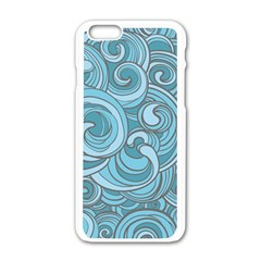Abstract Nature 8 Apple Iphone 6/6s White Enamel Case