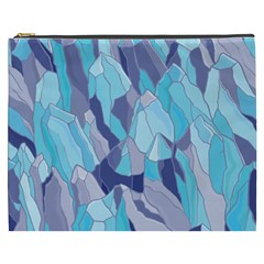 Abstract Nature 14 Cosmetic Bag (xxxl)