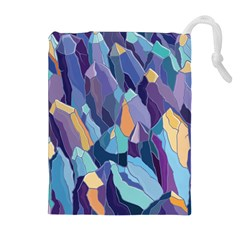 Abstract Nature 15 Drawstring Pouches (extra Large)