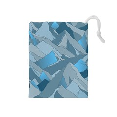 Abstract Nature 16 Drawstring Pouches (medium)