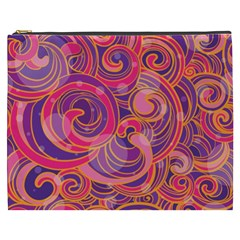 Abstract Nature 22 Cosmetic Bag (xxxl)