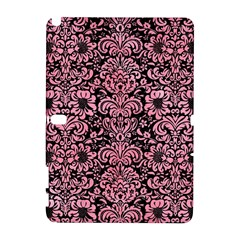 Damask2 Black Marble & Pink Watercolor (r) Galaxy Note 1