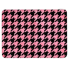 Houndstooth1 Black Marble & Pink Watercolor Samsung Galaxy Tab 7  P1000 Flip Case