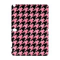 Houndstooth1 Black Marble & Pink Watercolor Galaxy Note 1