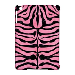 Skin2 Black Marble & Pink Watercolor Apple Ipad Mini Hardshell Case (compatible With Smart Cover)