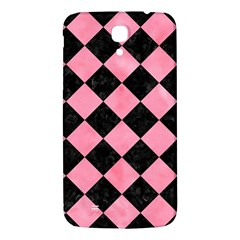 Square2 Black Marble & Pink Watercolor Samsung Galaxy Mega I9200 Hardshell Back Case