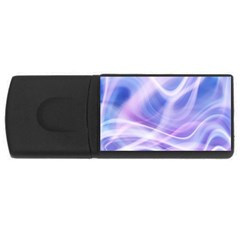 Abstract Graphic Design Background Rectangular Usb Flash Drive
