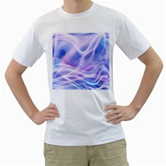 Abstract Graphic Design Background Men s T Shirt (white)