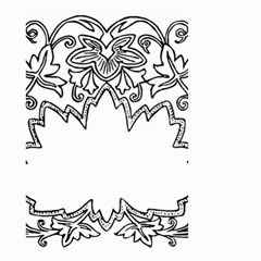 Bouquet Flower Decoration Pattern Small Garden Flag (two Sides)