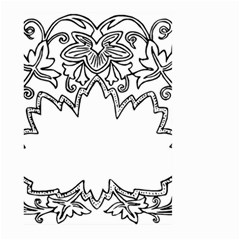 Bouquet Flower Decoration Pattern Large Garden Flag (two Sides)