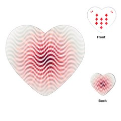 Art Abstract Art Abstract Playing Cards (heart)