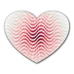 Art Abstract Art Abstract Heart Mousepads