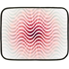 Art Abstract Art Abstract Double Sided Fleece Blanket (mini)