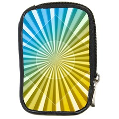 Abstract Art Art Radiation Compact Camera Cases
