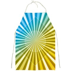 Abstract Art Art Radiation Full Print Aprons