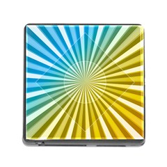 Abstract Art Art Radiation Memory Card Reader (square)