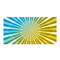 Abstract Art Art Radiation Satin Wrap