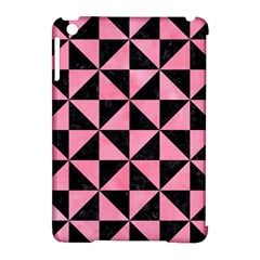 Triangle1 Black Marble & Pink Watercolor Apple Ipad Mini Hardshell Case (compatible With Smart Cover)