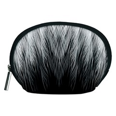 Feather Graphic Design Background Accessory Pouches (medium)