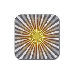 Abstract Art Art Modern Abstract Rubber Square Coaster (4 Pack)