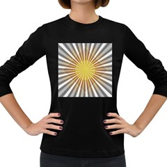 Abstract Art Art Modern Abstract Women s Long Sleeve Dark T Shirts