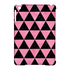Triangle3 Black Marble & Pink Watercolor Apple Ipad Mini Hardshell Case (compatible With Smart Cover)