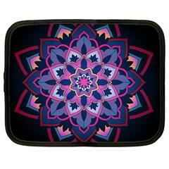 Mandala Circular Pattern Netbook Case (large)