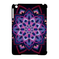 Mandala Circular Pattern Apple Ipad Mini Hardshell Case (compatible With Smart Cover)