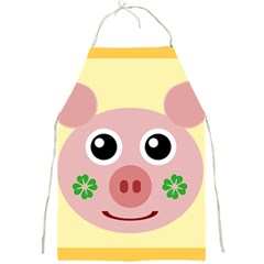 Luck Lucky Pig Pig Lucky Charm Full Print Aprons