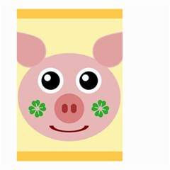 Luck Lucky Pig Pig Lucky Charm Small Garden Flag (two Sides)