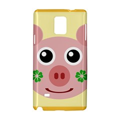 Luck Lucky Pig Pig Lucky Charm Samsung Galaxy Note 4 Hardshell Case