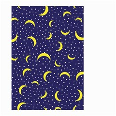 Moon Pattern Small Garden Flag (two Sides)