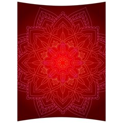 Mandala Ornament Floral Pattern Back Support Cushion